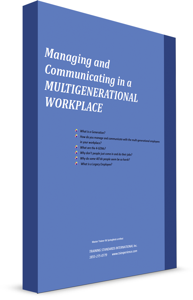 Managing and Communicating in a Multigenerational Workplace eBook image