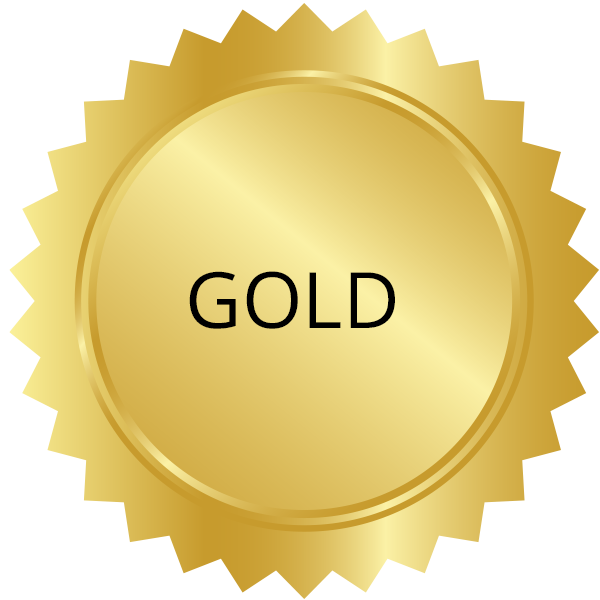 experience-levels-gold